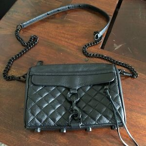 Authentic black Rebecca Minkoff bag